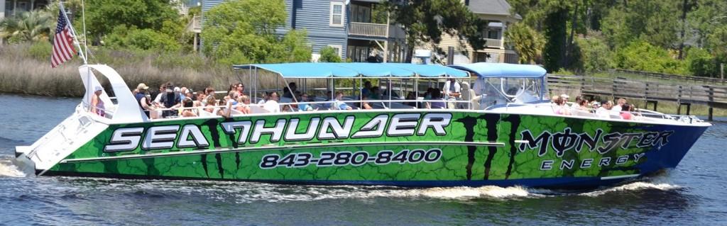 Myrtle Beach Dolphin Cruises | Sea Screamer & Sea Thunder ...